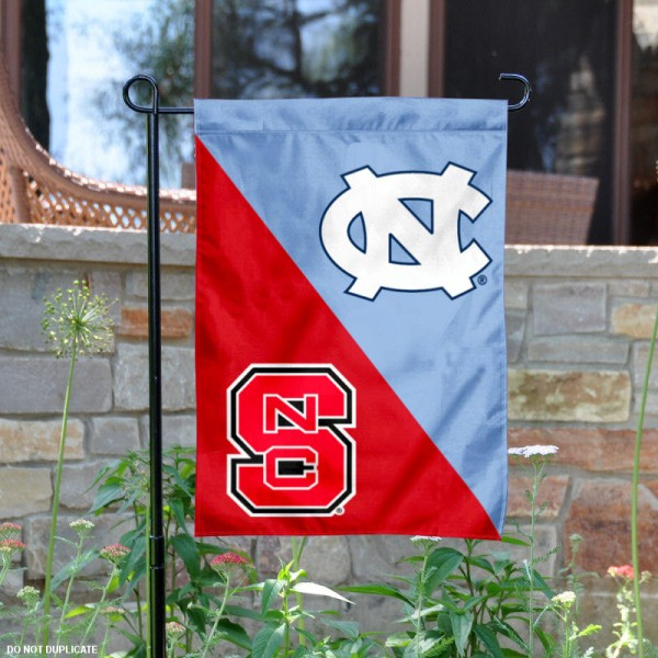 House Divided Garden Flag - UNC vs. NC State