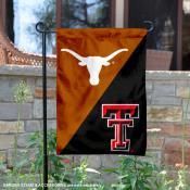 House Divided Garden Flag - UT Longhorns vs. Red Raiders