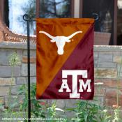 House Divided Garden Flag - UT Longhorns vs. Aggies