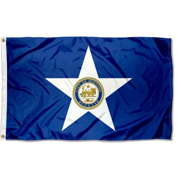 Houston City 3x5 Foot Flag