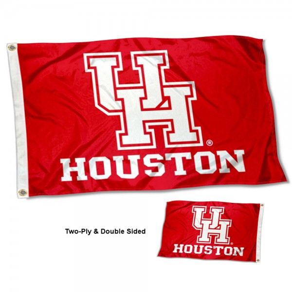 Houston Cougars Two Sided 3x5 Foot Flag