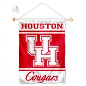 Houston Cougars Window Hanging Banner with Suction Cup