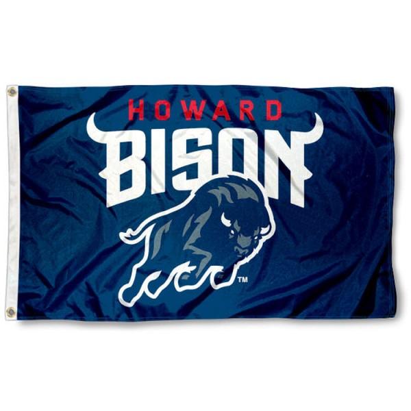 Howard Bison College Flag
