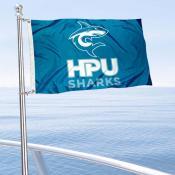 HPU Sharks Boat Nautical Flag