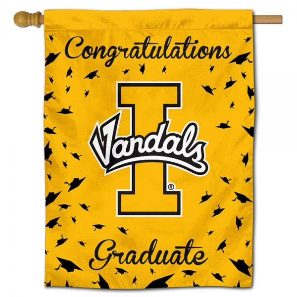 Idaho Vandals Graduation Banner