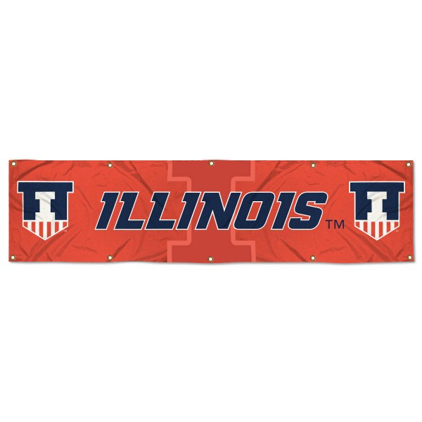 Illinois Fighting Illini 2x8 Banner