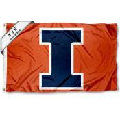 Illinois Fighting Illini 4'x6' Flag