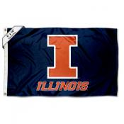 Illinois Fighting Illini 6 by 10 Foot Flag