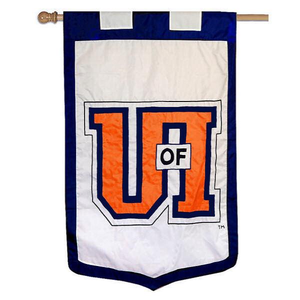 Illinois Fighting Illini Banner Flag
