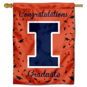 Illinois Fighting Illini Graduation Banner