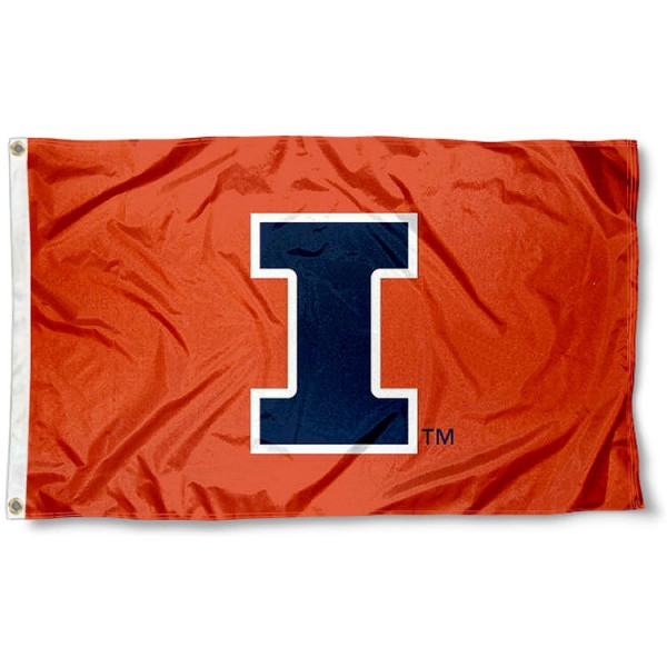 Illinois Fighting Illini New I Flag