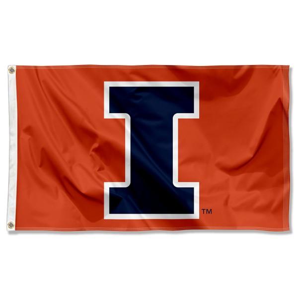 Illinois Fighting Illini New I Flag