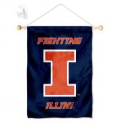 Illinois Fighting Illini Small Wall and Window Banner