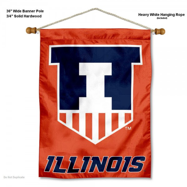 Illinois Fighting Illini Wall Hanging