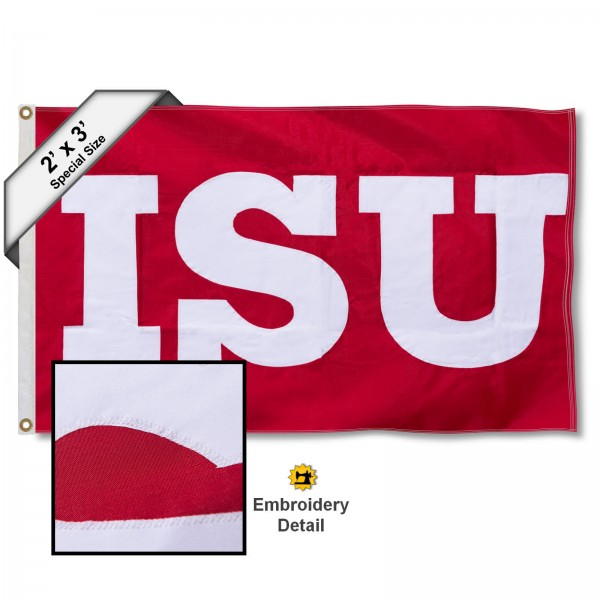 Illinois State Redbirds 2x3 Flag