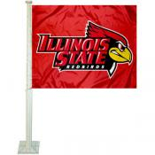 Illinois State Redbirds Car Flag