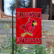 Illinois State Redbirds Garden Flag
