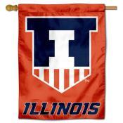 Illinois Victory Badge Logo House Flag