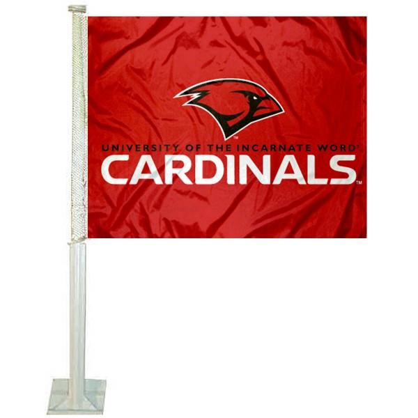 Incarnate Word Cardinals Car Flag