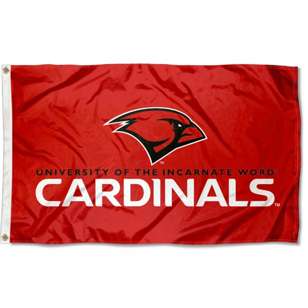 Incarnate Word Cardinals Logo Flag