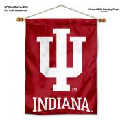 Indiana Hoosiers Banner with Pole