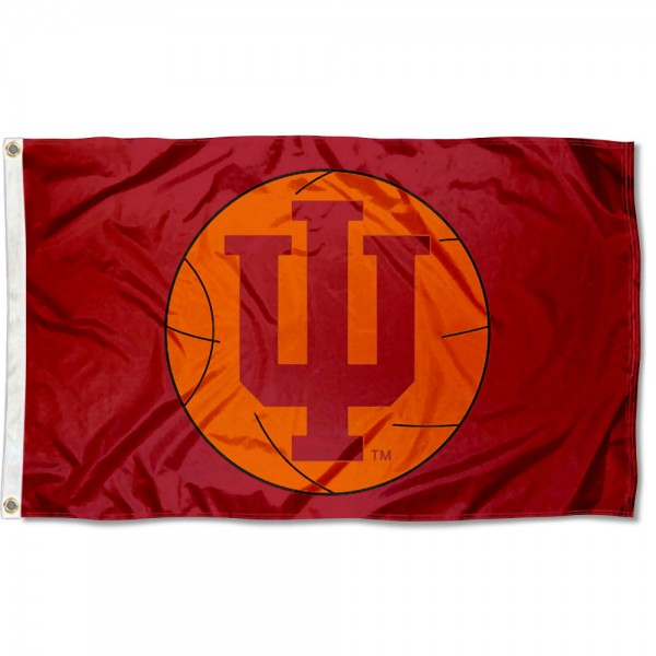 Indiana Hoosiers Basketball Flag