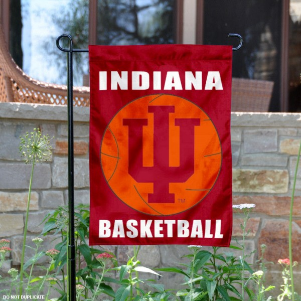 Indiana Hoosiers Basketball Garden Flag