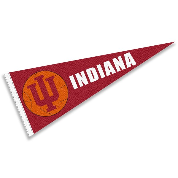 Indiana Hoosiers Basketball Pennant