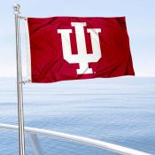 Indiana Hoosiers Boat Flag