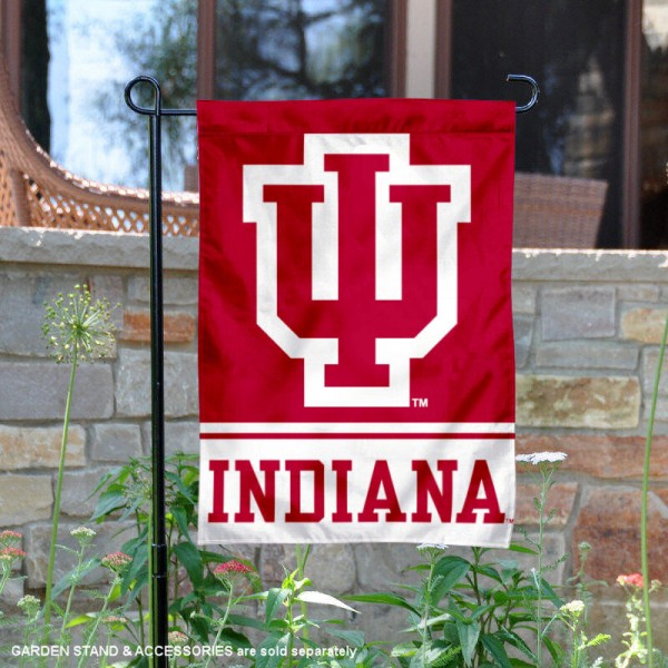 Indiana Hoosiers Garden Flag