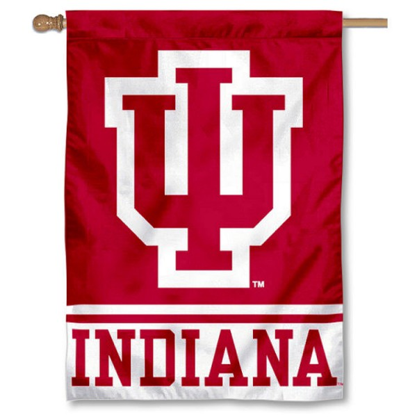 Indiana Hoosiers House Flag