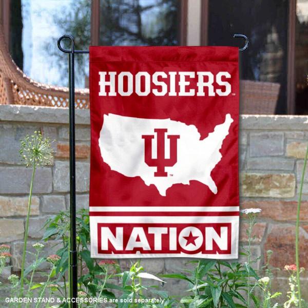 Indiana Hoosiers Nation Garden Flag