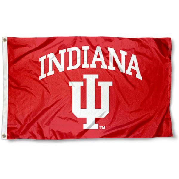 Indiana Hoosiers School Flag