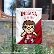 Indiana Hoosiers Yuru Chara Tokyo Dachi Garden Flag