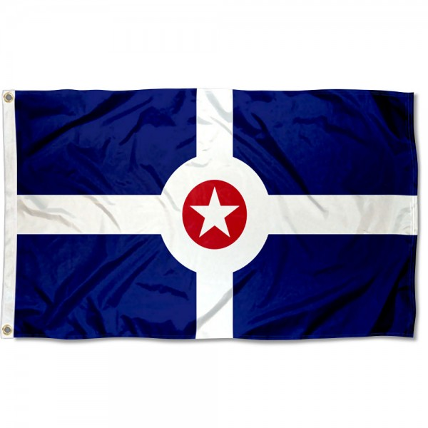 Indianapolis City 3x5 Foot Flag