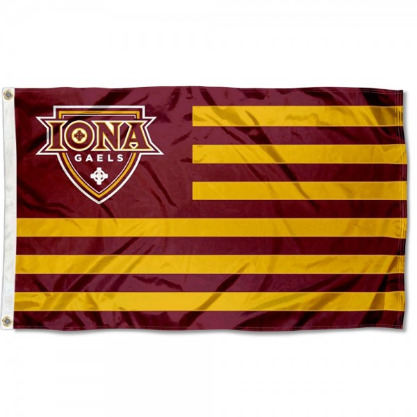 Iona College American Nation Flag