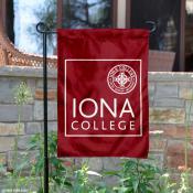 Iona College Garden Banner