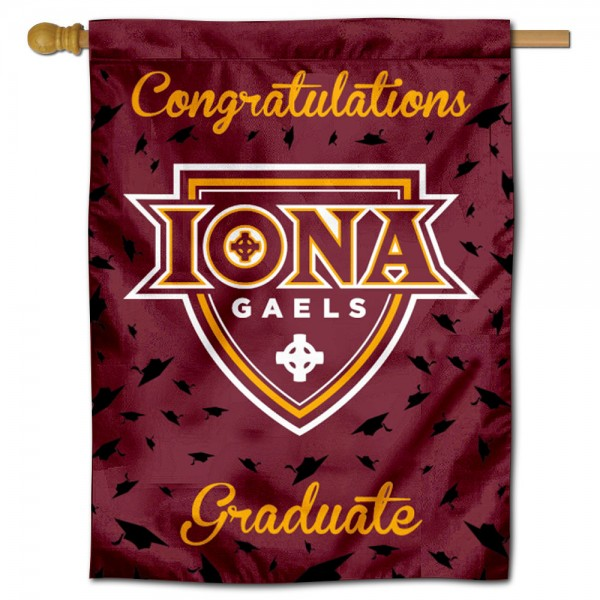 Iona College Graduation Banner