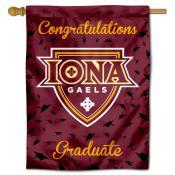 Iona College Graduation Banner