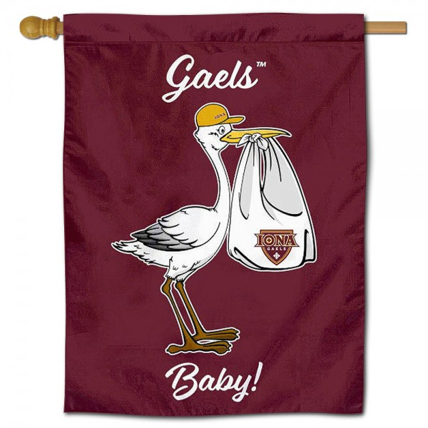 Iona College New Baby Banner