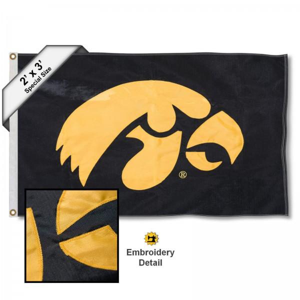 Iowa Hawkeyes 2x3 Flag