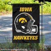 Iowa Hawkeyes Football Garden Flag