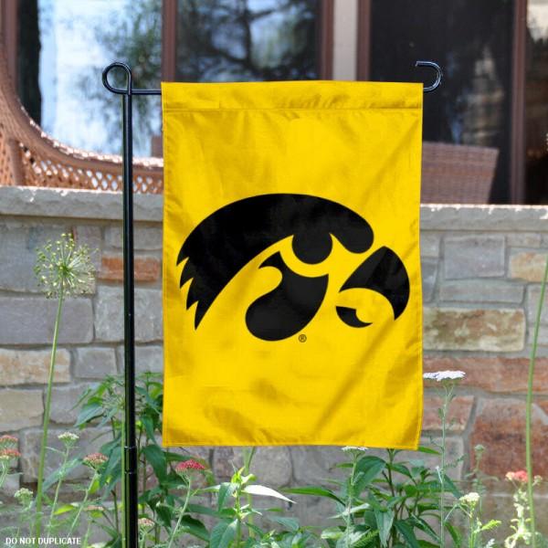 Iowa Hawkeyes Garden Flag