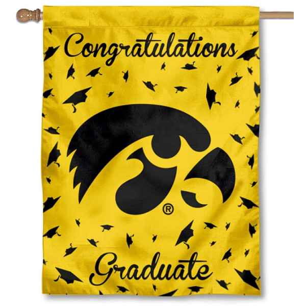Iowa Hawkeyes Graduation Banner