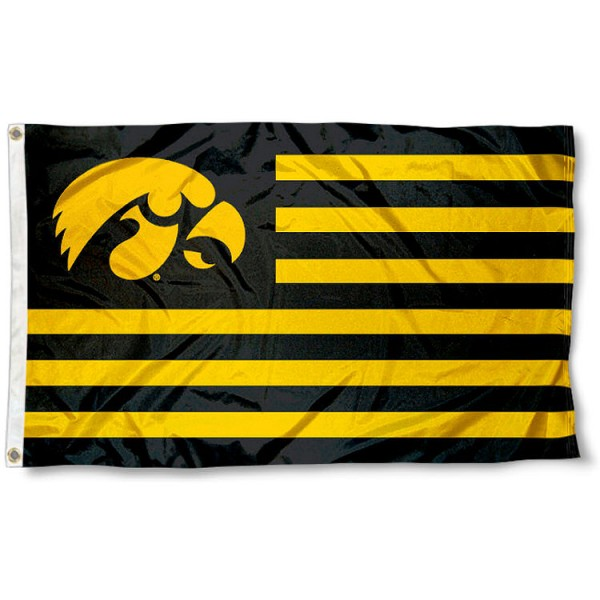Iowa Hawkeyes Nation Flag