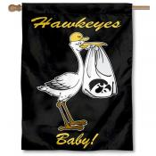 Iowa Hawkeyes New Baby Banner