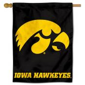 Iowa Hawkeyes Polyester House Flag