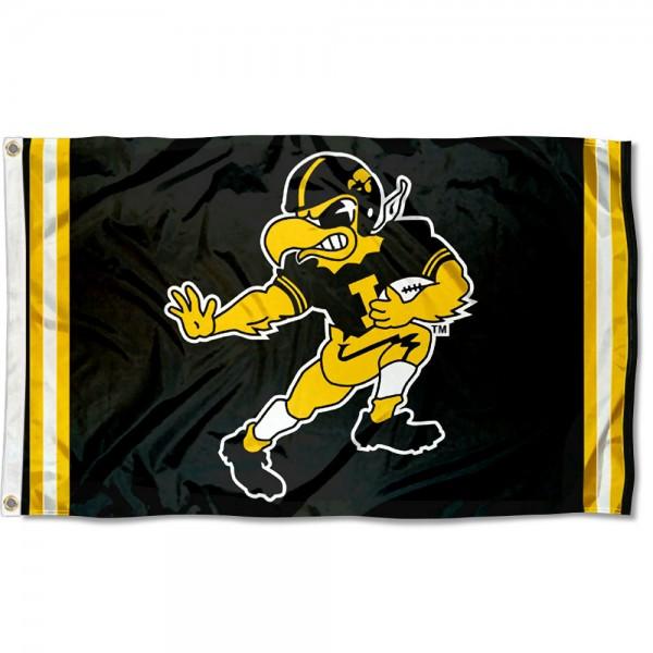 Iowa Hawkeyes Retro Vintage 3x5 Feet Banner Flag