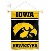 Iowa Hawkeyes Window Hanging Banner with Suction Cup