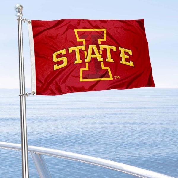 Iowa State Boat Nautical Flag